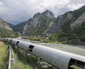 Eiffage and Vinci share the bulk of the Lyon-Turin tunnel construction site