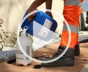 Mineralspray: aggregate fixer