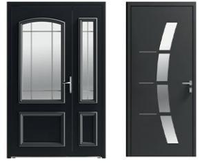 Aluminum and mixed doors: the aluminum inspiration