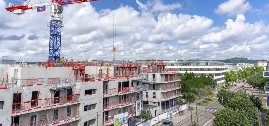 Les mises en chantier de logements en baisse, mais les autorisations de construire repartent à la hausse
