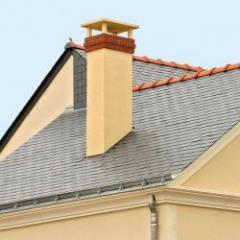 Sorties de toit métallique pour maisons individuelles