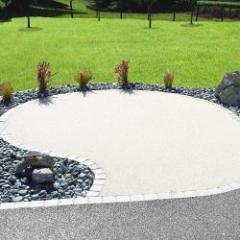Revêtement de sol perméable