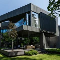 Zinc cladding systems for individual facades