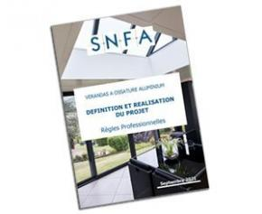 The SNFA publishes the new professional rules for verandas in ...