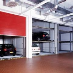 Mechanized parking for 3 or 6 cars
