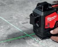 Milwaukee® Introduces 4 New Green Lasers and Their Accessories