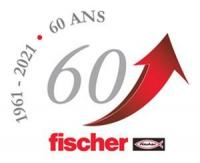 Fischer France celebrates 60 years of innovations in the fastening market