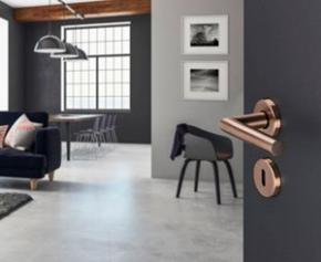 Decorative trend: HOPPE satin handles for doors and windows