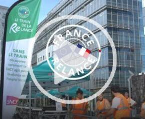 Quatrième étape du Train de la Relance à Rennes