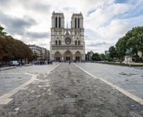 Le choix du projet de réaménagement des abords de Notre-Dame à l'été 2022