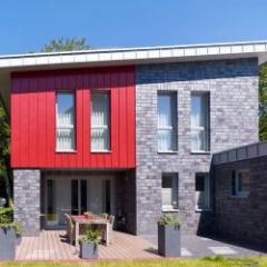 Zinc laqué coloré pour toiture, façade et évacuation des eaux pluviales