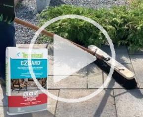 Ezsand, le Sable Polymère pour Joints de Pavés