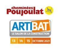 Cheminées Poujoulat sera à Artibat hall 10A - stand F28 pour parler RE2020 et chauffage bois en maison individuelle
