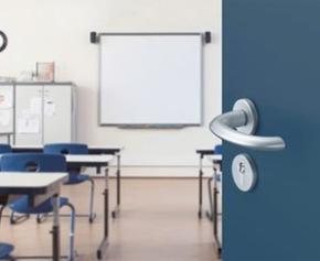 Hygiène : poignées de porte et de fenêtre antimicrobiennes SecuSan®