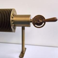 Radiateur design tube à ailette industrielle
