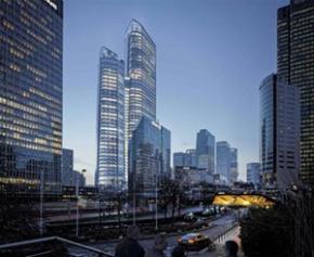 """Comment """"horizontaliser"""" une tour, selon l'architecte du futur plus haut..."""