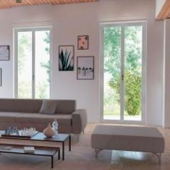 PVC window with an exclusive design combining aesthetics and performance