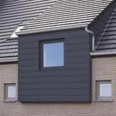 PVC cladding with invisible junction