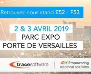 Trace Software présente ses innovations BIM pour les installations électriques Stand E52 - F53