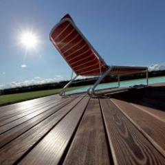 Ash deck board