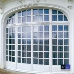 Fenêtre bois Versailles en fabrication traditionnelle