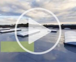 Bluevoûte et Bluesteel en toiture du nouvel atelier Fichou…