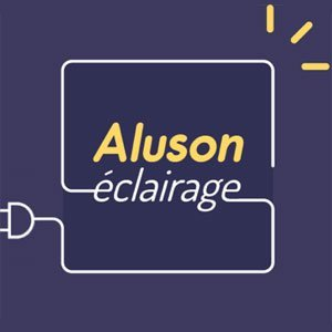 Aluson lighting: Logo