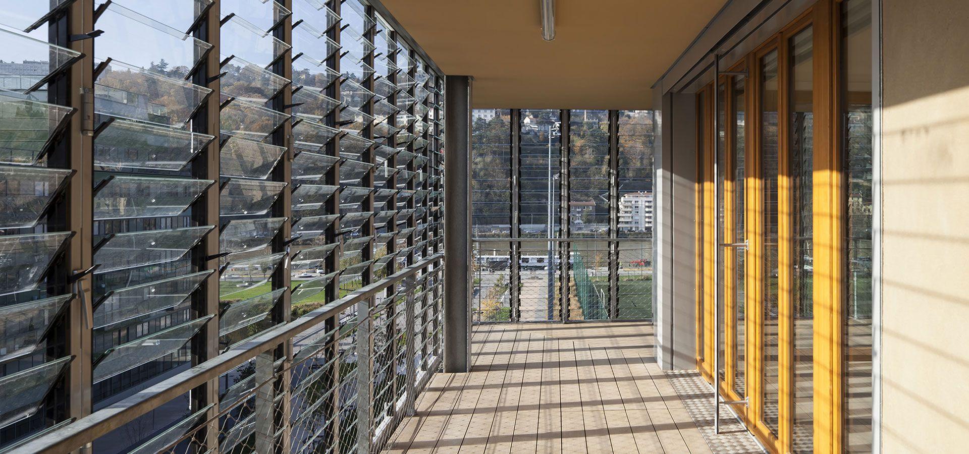Claustra Bois Lames Orientables châssis lames orientables pour réaliser vantelles