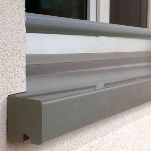 Système Dappui De Fenêtre En Aluminium Pour Façade Isolée