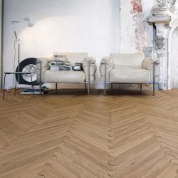 Biscuit oak parquet