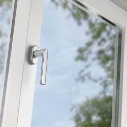 Self-locking window handles