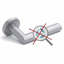 Antimicrobial and antibacterial handles
