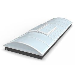 Sliding skylight thermal break