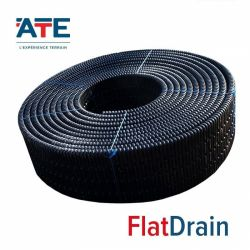 Solution for drainage of sports floors