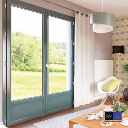 The colorful and uncompromising PVC window