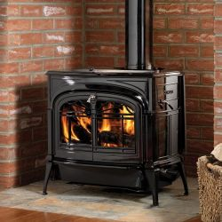 Wood stove timeless and charming, equipped with dual catalytic combustion