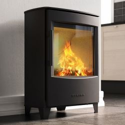 Wood stove for an existing fireplace, a small apartment or a well insulated house