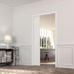 Frame for interior sliding door