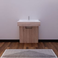 Bathroom furniture adapted for people with reduced mobility