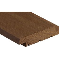 Wood blade for cladding