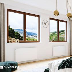 PVC window that combines aesthetics and comfort