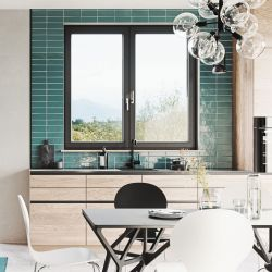 Modern PVC window that combines performance and design