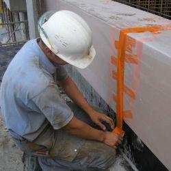 Economical biodegradable disposable formwork for integration into concrete elements